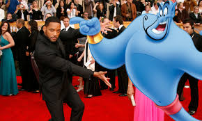 will smith might play the genie in