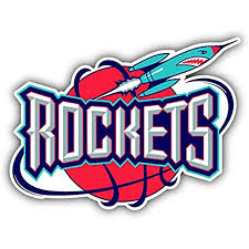 Amazon Com Hotprint Rockets Basketball Houston Sport Logo Car Bumper Sticker Decal 5 X 4 Kitchen Dining