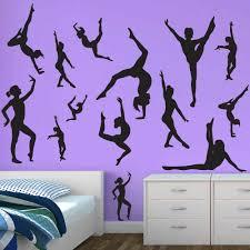 Gymnastics Decals Gymnast Wall Decal Sticker Genius