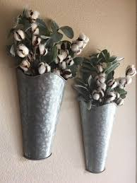 rustic wall decor wall pockets with
