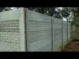 Precast Concrete Retaining Wall Panels