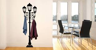 Lamp Post Wall Decals Coat Rack Dezign With A Z
