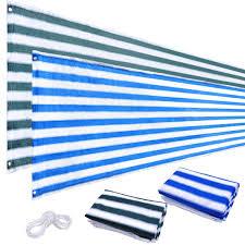 balcony fence shield rail protection