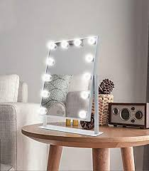 makeup mirror with lights large vanity