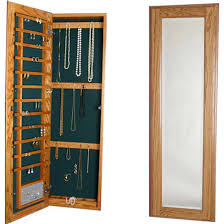 jewelry cabinet with full length mirror