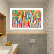Shop Full Color Modern Art Painting Colorful Art Full Color Wall Decal Sticker Sticker Decal 22x30 Overstock 15102358