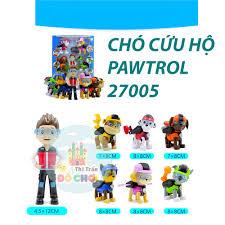 Đồ chơi mô hình nhân vật hoạt hình bằng nhựa cho bé - biệt đội chó cứu hộ  -27005- Thị trấn đồ chơi