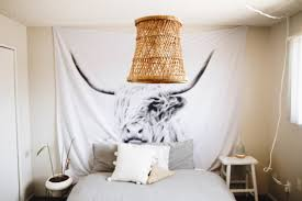 7 diy wicker and rattan lampshades to