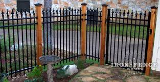Mounting Wrought Iron Or Aluminum Fence To Something Other Than Our Fence Posts Iron Fence Shop Blog