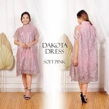 Rok menggunakan bahan yang mekar sehingga. Dress Brokat Home Facebook