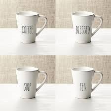 Vinyl Decal Coffee Mug Decals Coffee Blessed Gulp Etsy