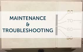 furnace maintenance troubleshooting