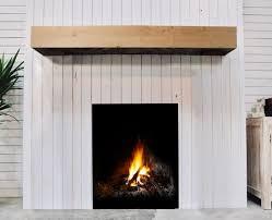 wood mantels floating wood shelves