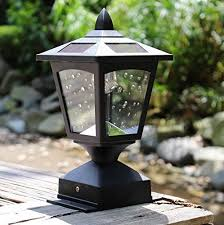 4 X 4 Solar Powered Post Cap Light Wood Fence Posts Pathway Deck Fence Light Pack 1 On Galleon Philippines