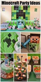 Minecraft Birthday Sean S Minecraft 10th Birthday Fiesta