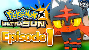 My New Best Friend! - Pokemon Ultra Sun and Moon Gameplay - Episode 1 -  YouTube