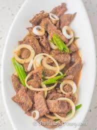 sirloin beef steak alog panlasang