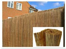 Natural Peeled Reed Screening Roll Garden Fencing Panel 4m 1mx4m For Sale Ebay
