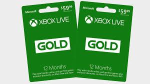 the est deals for xbox live gold