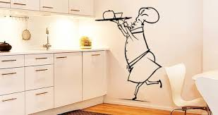 My Funny Chef Wall Stickers Dezign With A Z