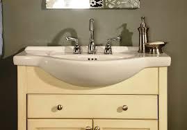 narrow depth bathroom vanities
