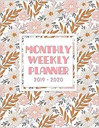 monthly weekly planner to