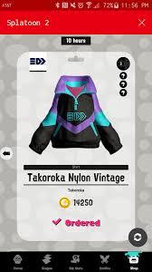 New Takoroka jacket with Ninja Squid ...
