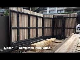 Turning Sliding Gate Sidturn Avoca Beach Nsw Sidcon Fabrications Youtube Sliding Gate House Gate Design Front Gate Design