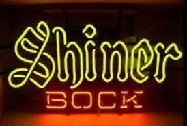 shiner bock texas neon light sign 17