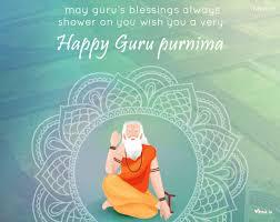 colour full image the blessings of guru for greetings