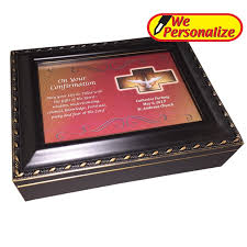 holy spirit black confirmation box
