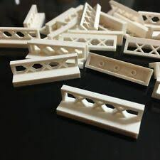 Fence White Lego Bricks Building Pieces For Sale Ebay