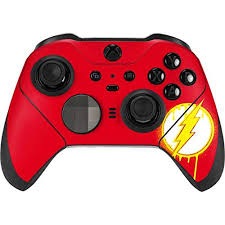 Amazon For Skinit Decal Gaming Skin For Xbox Elite Wireless Controller Series 2 Officially Licensed Dc Comics Flash Emblem Drip Design Fandom Shop