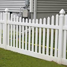 Weatherables Hampshire 3 Ft X 8 Ft White Vinyl Picket Fence Panel Dog Eared For Sale Online Ebay
