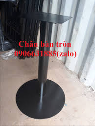 Nhận sản xuất chân bàn sắt, inox, chân bàn cafe