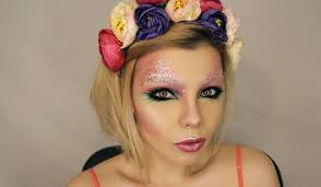 flower makeup tutorial photo 1 wink