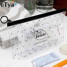 etya fashion women clear cosmetic bags