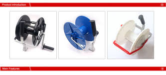 China Electric Fence Geared Reel Fence Spool China Fence Reels And Fencing Wire Reel Price