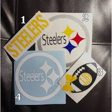 Steeler Decals Here We Go Pittsburgh Dad Pittsburgh Steelers Stiller Decal Steeler Car Decal Pittsburgh Dad Steelers Red And Blue