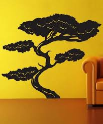 Amazon Com Vinyl Wall Decal Sticker Tall Asian Bonsai Tree Gfoster152b Everything Else