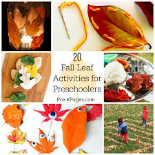 20 fall leaf activities for preers
