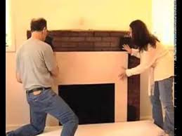 facing kit in fireplace mantels