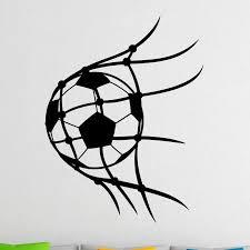 Soccer Wall Decal Football Vinyl Stickers Sport Home Design Art Murals Boys Room Wall Decor Wall Stickers Aliexpress
