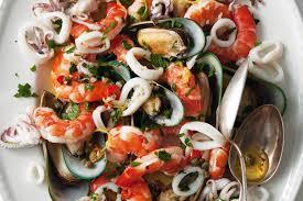 seafood salad recipe ...