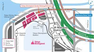 official guest parking tokyo disneyland