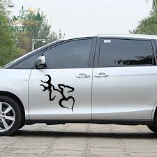 Earlfamily 58cm X 33 34cm 2x Animal Artistic Totem Browning Love Deer Hunter Jdm Car Sticker For Car Decor Vinyl Decal 9 Colors Car Stickers Aliexpress
