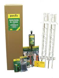 Electric Fencing Starter Kit Premium 1 05m Posts