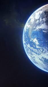 1080x1920 earth moon galaxy stars