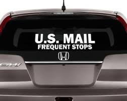 Us Mail Decal Etsy