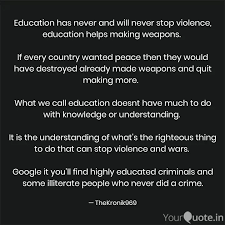 education has never and w quotes writings by aakash deep